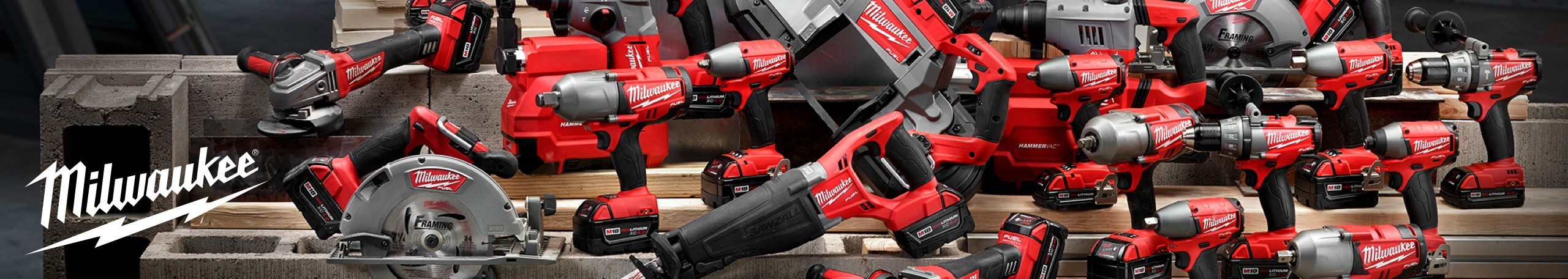 More about Milwaukee power tools at Stevensville