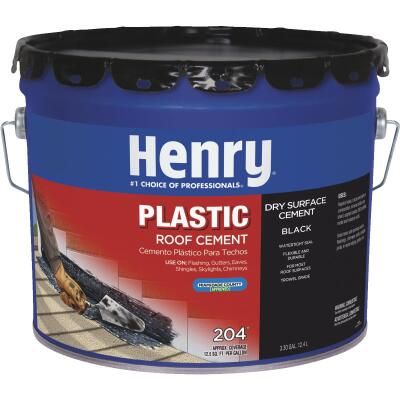 Henry 3.3 Gal. Plastic Roof Cement and Patching Sealant