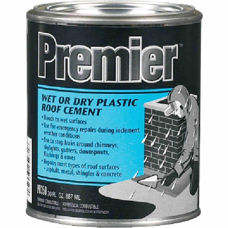 Premier 350 30 Oz. Wet or Dry Plastic Roof Cement Image 1