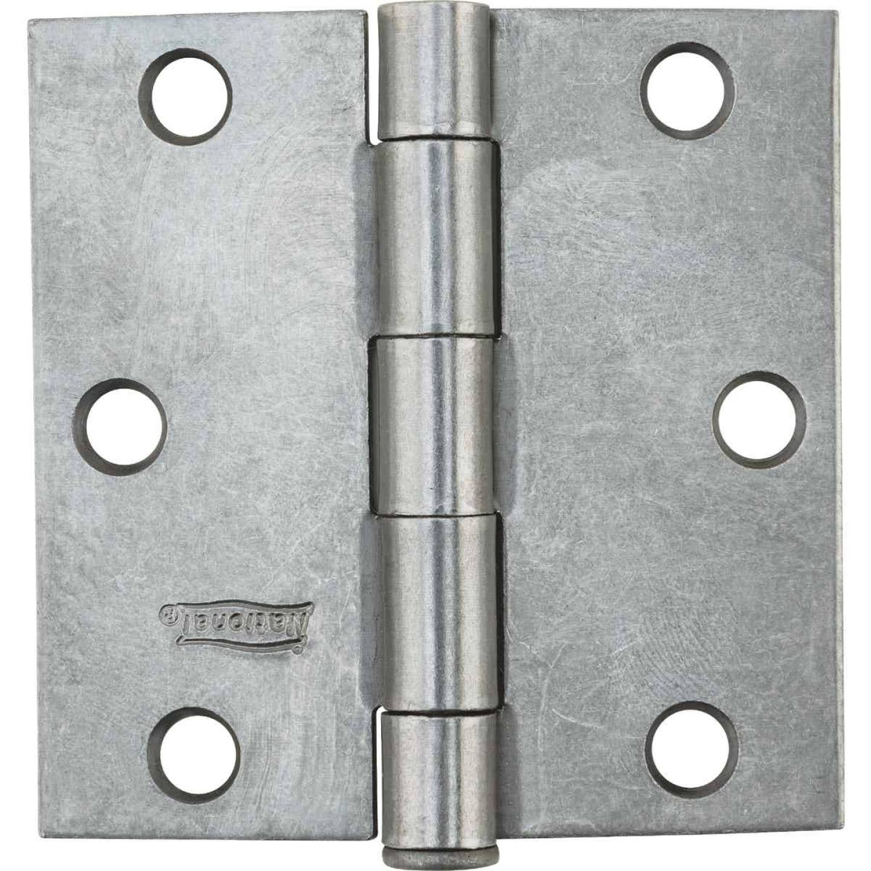 National 3 In. Square Plain Steel Broad Door Hinge Image 2