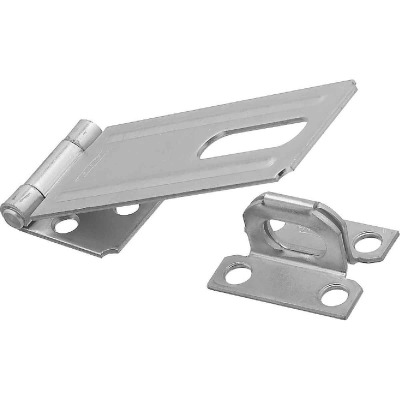 National 4-1/2 In. Zinc Non-Swivel Safety Hasp