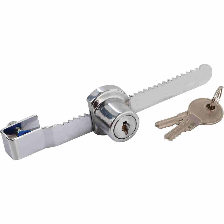 National 4-1/2 In. Chrome Keyed Showcase Lock - Keyed Different Image 3