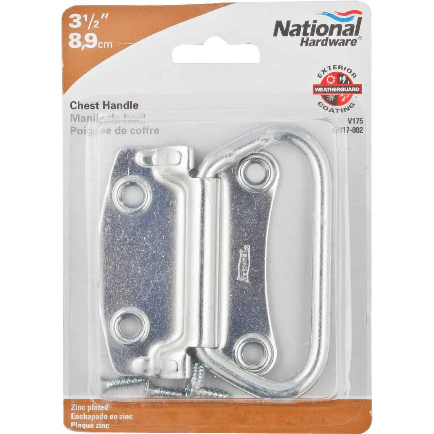 "National 3-1/2"" Chest Handle Image 2"