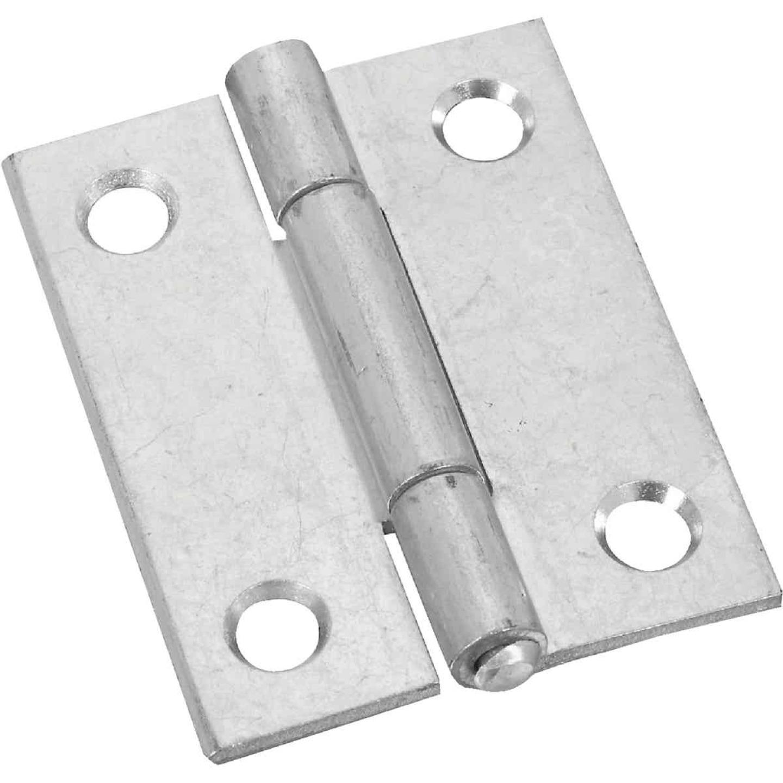 National 2 In. Zinc Tight-Pin Narrow Hinge (2-Pack) Image 1