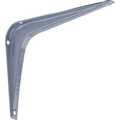 National 211 5 In. D. x 6 In. H. Gray Steel Shelf Bracket