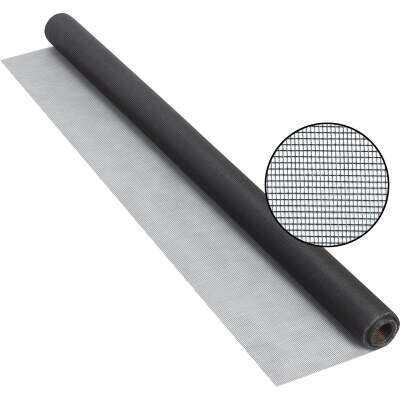 Phifer 36 In. x 25 Ft. Charcoal Fiberglass Screen Cloth