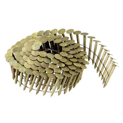 Bostitch 15 Degree Wire Weld Galvanized Coil Roofing Nail, 1 In. x .120 In. (7200 Ct.)