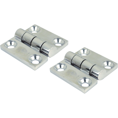 Seachoice 1-1/2 In. Stainless Steel Butt Hinge (2-Pack)