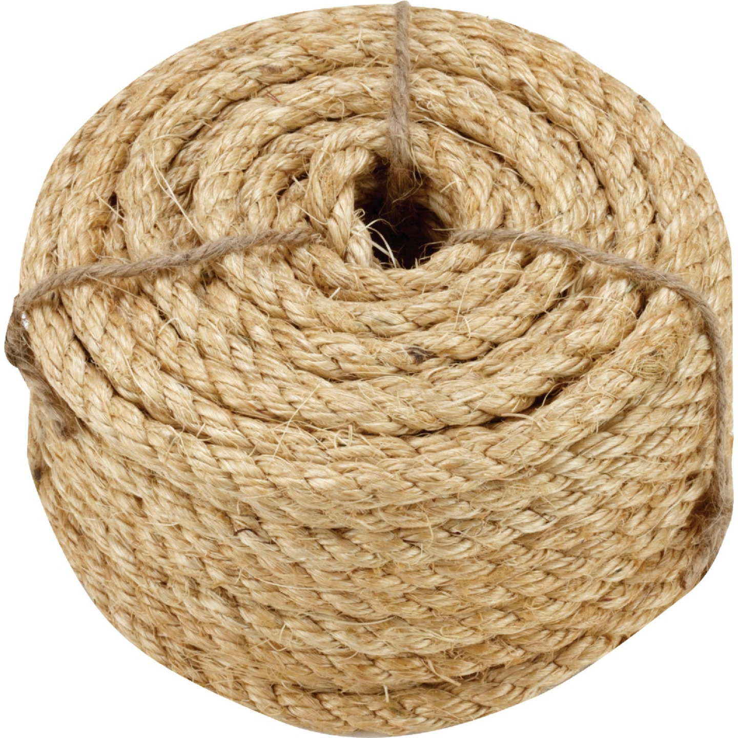 Do it 3/8 In. x 50 Ft. Natural Twisted Sisal Fiber Packaged Rope Image 1