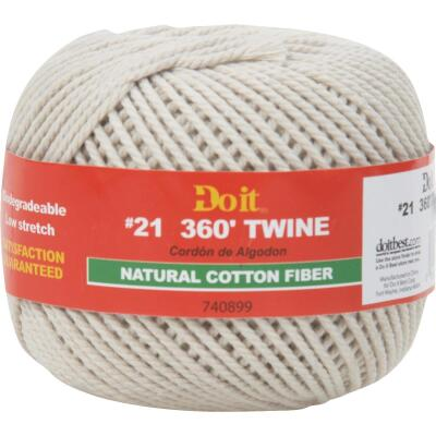 Do it #21 x 360 Ft. Natural Cotton Twine