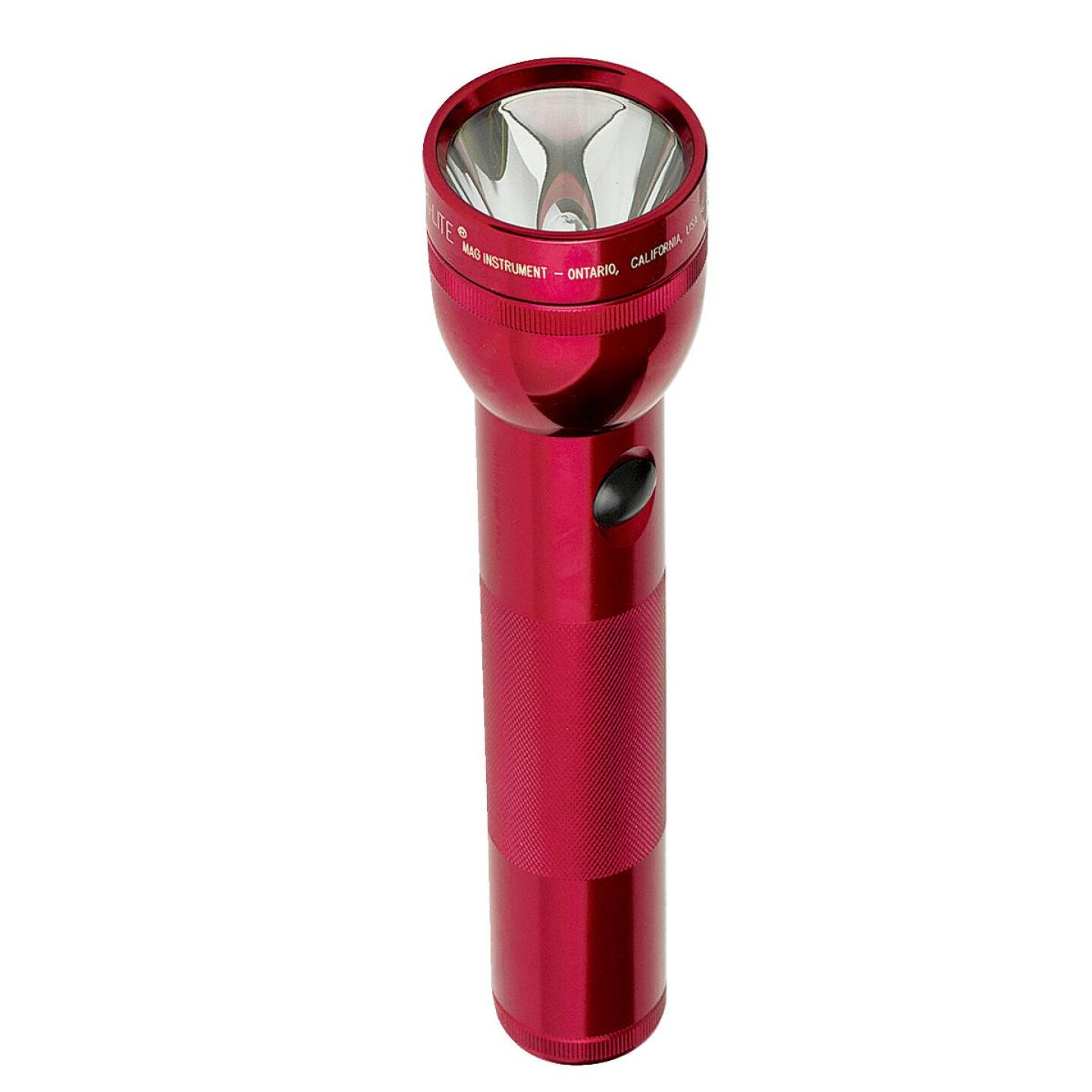 Maglite 27 Lm. Xenon 2D Flashlight, Red Image 3